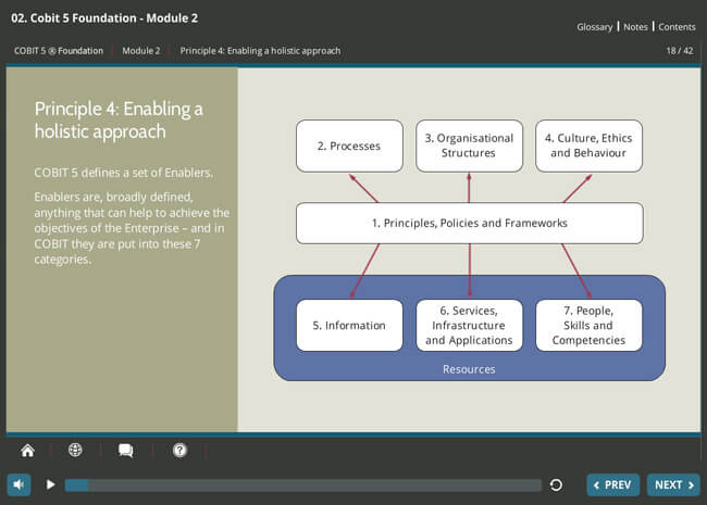 COBIT® 5 Foundation & GDPR Implementation Suite Screenshot 1
