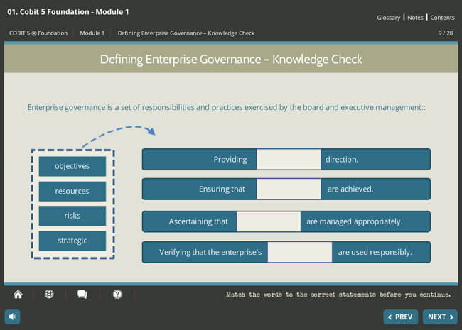 COBIT® 5 Foundation & GDPR Implementation Suite Screenshot 3