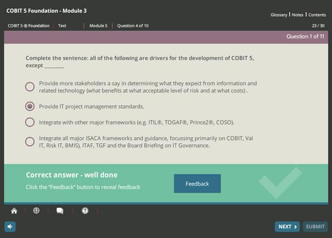COBIT® 5 Foundation & GDPR Implementation Suite Screenshot 4