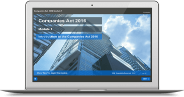 New Companies Act 2016 eLearning