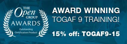 TOGAF Award Winner