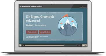 Six Sigma Green Belt Advanced (level 1 & 2) eLearning