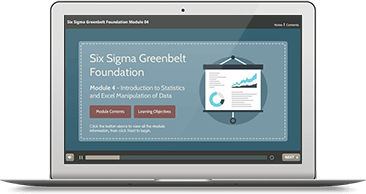 Six Sigma Green Belt Foundation eLearning