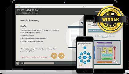 TOGAF® 9 Certified & ArchiMate® 3 Practitioner eLearning