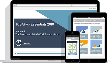 TOGAF® Essentials 2018 eLearning
