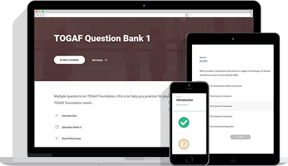 Practice Exams: TOGAF® 9 Foundation eLearning