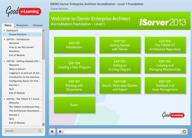 iServer Enterprise Architect Screenshot 1