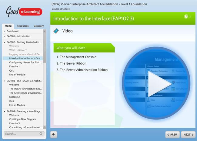 iServer Enterprise Architect Screenshot 2