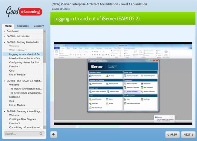 iServer Enterprise Architect Screenshot 4