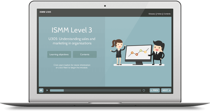 ISMM Level 3 U305 - Understanding Sales & Marketing in Organizations