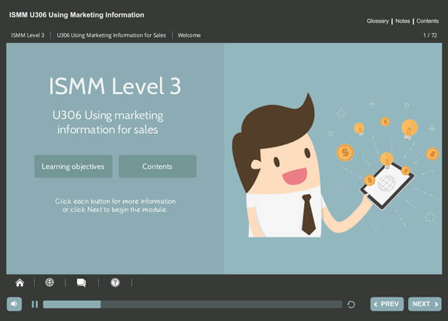 ISMM Level 3 U306 - Using Marketing Information for Sales Screenshot 6