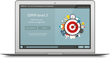 ISMM Level 3 U307 - Time & Territory Management eLearning