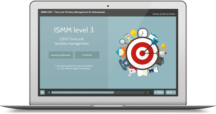 ISMM Level 3 U307 - Time & Territory Management