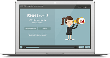 ISMM Level 3 U309 - Prospecting for New Business eLearning