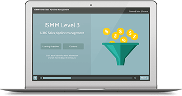 ISMM Level 3 U310 - Sales Pipeline Management eLearning