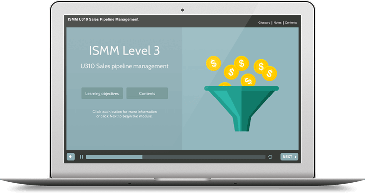 ISMM Level 3 U310 - Sales Pipeline Management