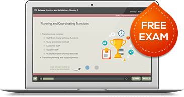 ITIL® Release, Control & Validation (RCV) eLearning
