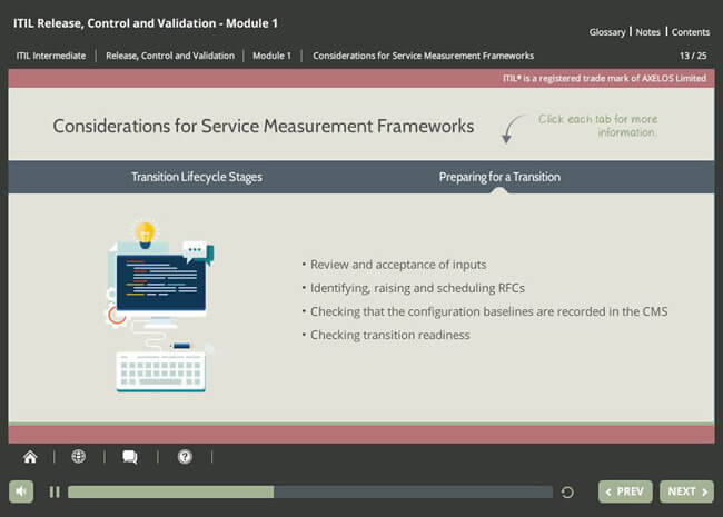ITIL® Release, Control & Validation (RCV) Screenshot 4