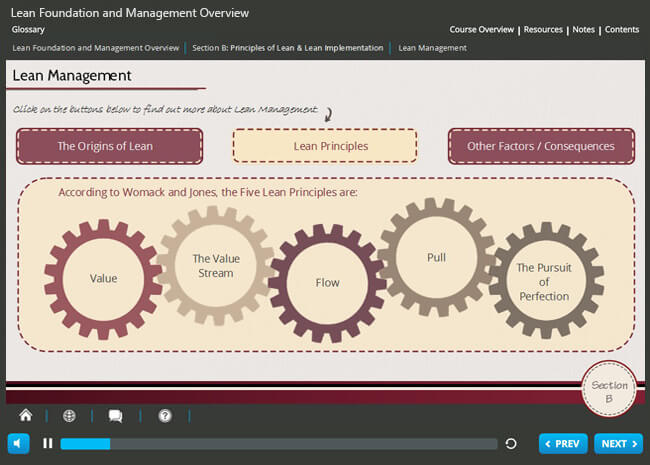 Lean Foundation & Management Overview Screenshot 3