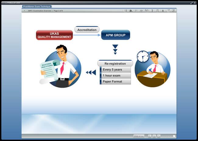 PRINCE2® Practitioner (level 2) 2009 Screenshot 3
