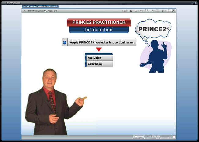 PRINCE2® Practitioner (level 2) 2009 Screenshot 6