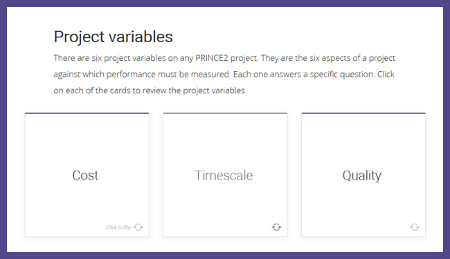 PRINCE2® 2017 Foundation Screenshot 2
