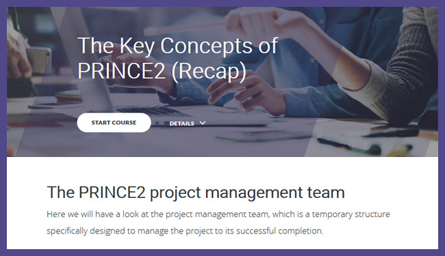 PRINCE2® 2017 Foundation Screenshot 3