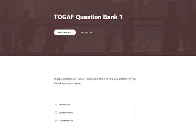 TOGAF® 9 Awareness & Foundation Suite Screenshot 5