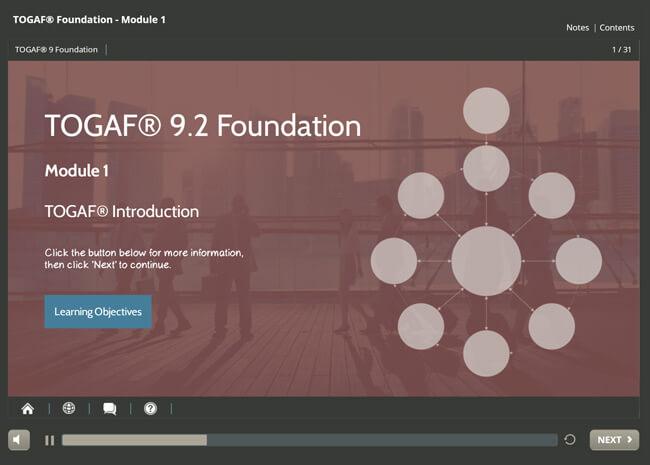 TOGAF® 9.2 Foundation Screenshot 6
