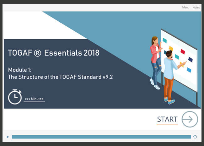 TOGAF® Essentials 2018 Screenshot 1
