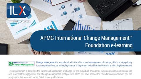 APMG International Change Management™ Foundation Datasheet