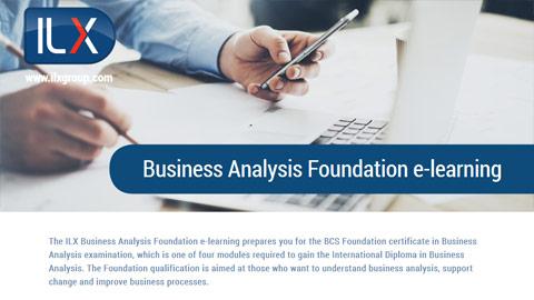 BCS Business Analysis Foundation Datasheet