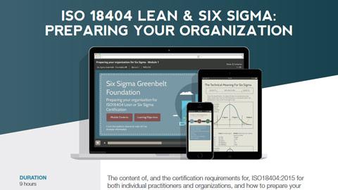 ISO 18404 Lean & Six Sigma: Preparing Your Organization Datasheet