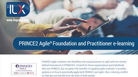 PRINCE2® Agile Foundation & Practitioner (level 1 & 2) Datasheet