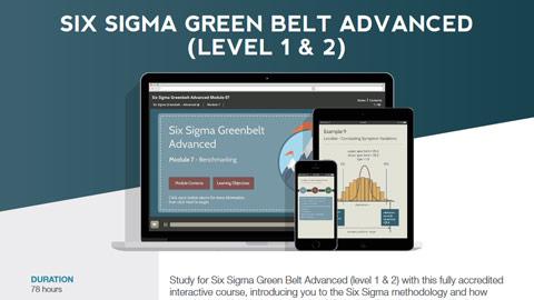 Six Sigma Green Belt Advanced (level 1 & 2) Datasheet