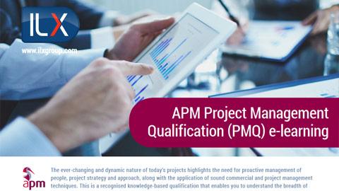 APM Project Management Qualification (PMQ) Datasheet