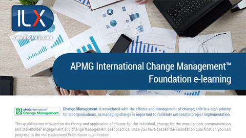 APMG International Change Management™ Foundation Datasheet