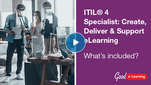 ITIL® 4 Specialist: Create, Deliver & Support (CDS) Video
