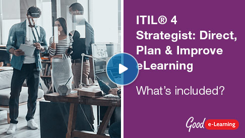 ITIL® 4 Strategist: Direct, Plan & Improve Video