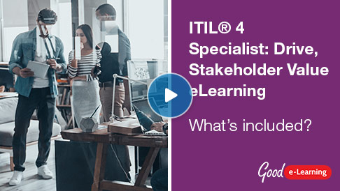 ITIL® 4 Specialist: Drive Stakeholder Value (DSV) Video