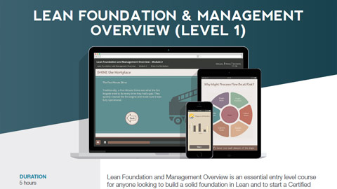 Lean Foundation & Management Overview Datasheet