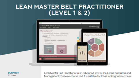 Lean Master Belt Practitioner (level 1 & 2) Datasheet
