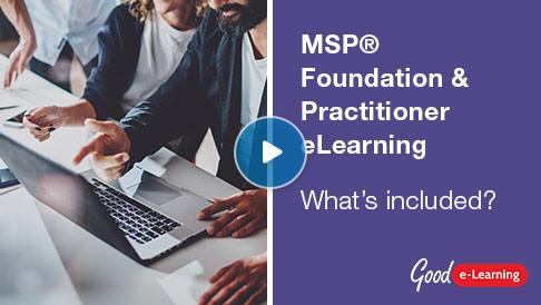 MSP® Foundation & Practitioner (level 1 & 2) Video