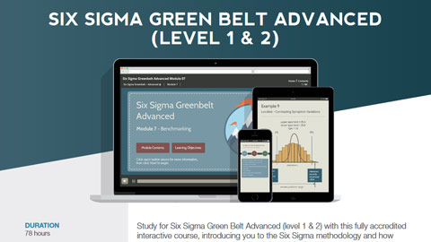 Six Sigma Green Belt Advanced (level 1 & 2) Datasheet