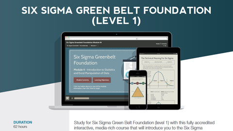 Six Sigma Green Belt Foundation Datasheet