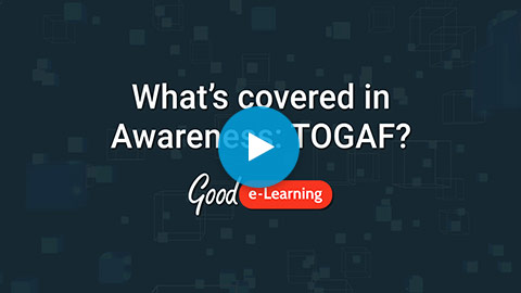 Awareness: TOGAF® 9 Video