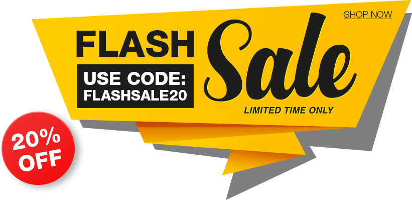 20% OFF - FLASHSALE20