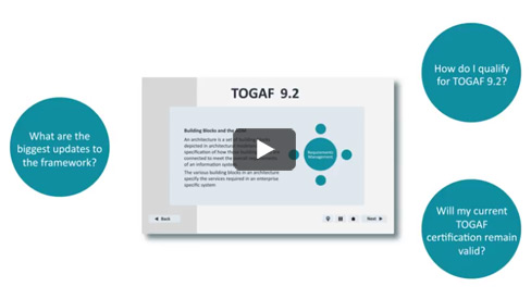 Updates to TOGAF